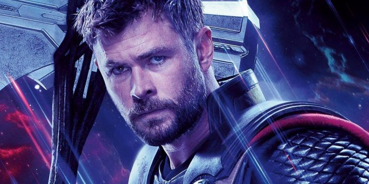 Thor Amor e Trovão Chris Hemsworth
