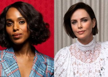 Charlize Theron e Kerry Washington
