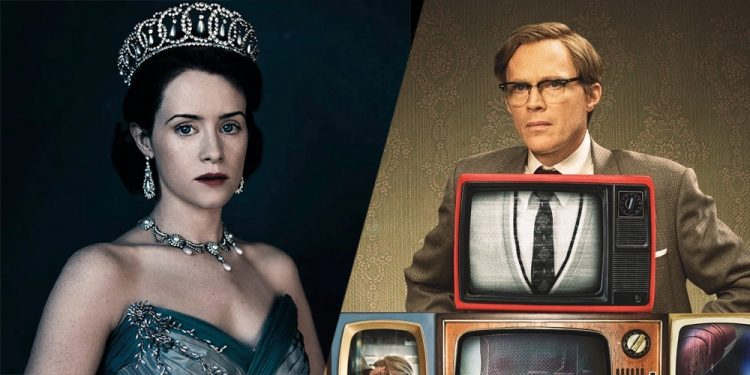 A Very British Scandal com Claire Foy e Paul Bettany