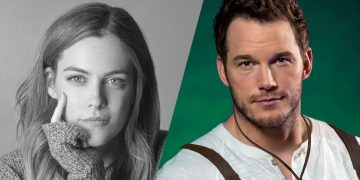 Riley Keough e Chris Pratt em The Terminal List