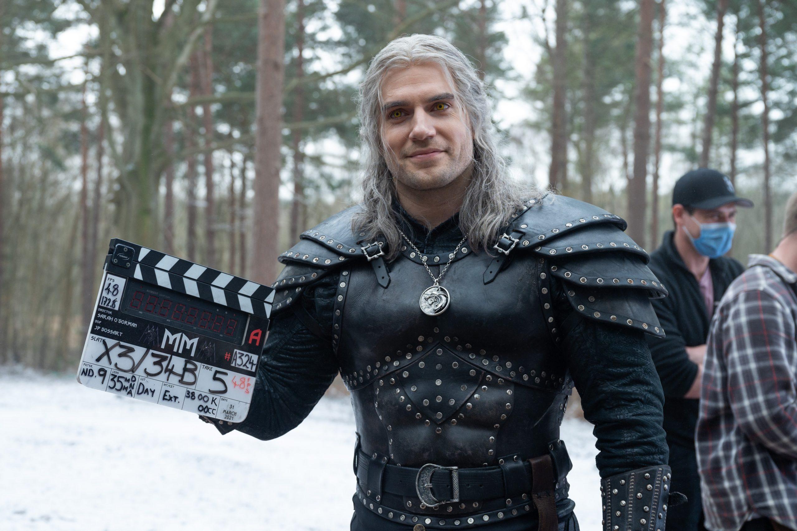 Fim das filmagens de The Witcher com Henry Cavill