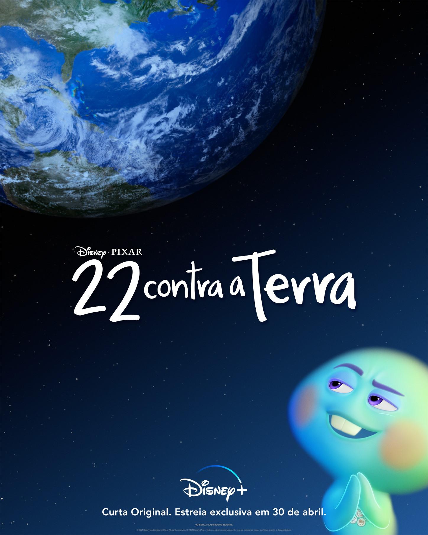cartaz 22 contra terra no Disney+