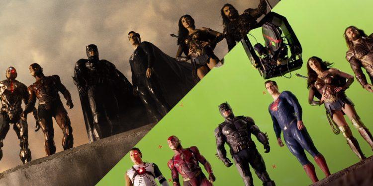 Liga da Justiça   Confira os bastidores do Snyder Cut