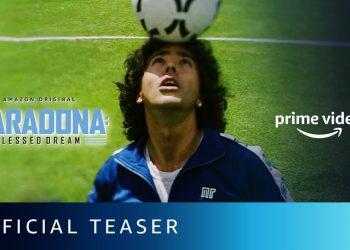 Maradona: Conquista de um Sonho | Série da Amazon ganha teaser trailer