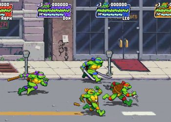 Novo game das Tartarugas Ninja será lançado no Nintendo Switch