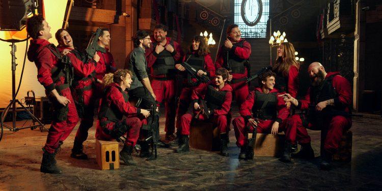 La Casa de Papel filmagens da 5ª temporada