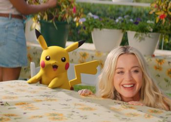 """Katy Perry apresenta o vídeo de """"Electric"""", com participação de Pikachu"""