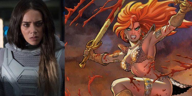 Hannah John-Kamen vai estrelar filme da guerreira Red Sonja