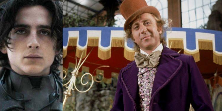 Timothée Chalamet será o jovem Willy Wonka no filme de origem da WB