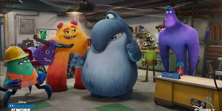 Monstros no Trabalho do Disney+