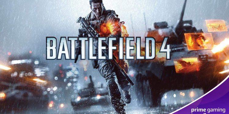 Battlefield 4 está disponível de graça no Prime Gaming