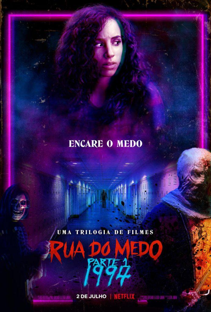 Rua do Medo Parte 1: 1994 ganha cartaz e trailer com muita tensão