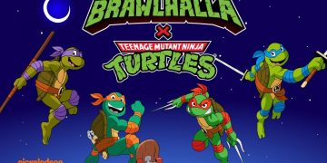 Ubisoft anuncia crossover de As Tartarugas Ninja em Brawlhalla