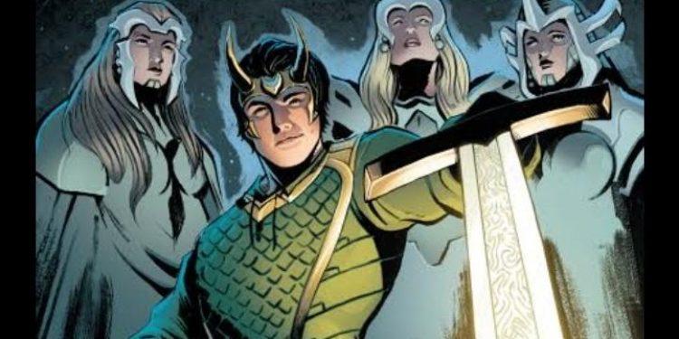 Kid Loki - Espada