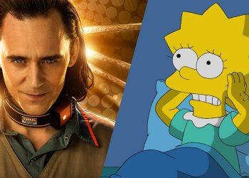 Loki em curta de Os Simpsons do Disney+