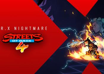 Streets of Rage 4 | DLC O Pesadelo de Mr. X já está disponível