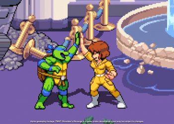 April O'Neil será jogável no novo game das Tartarugas Ninja
