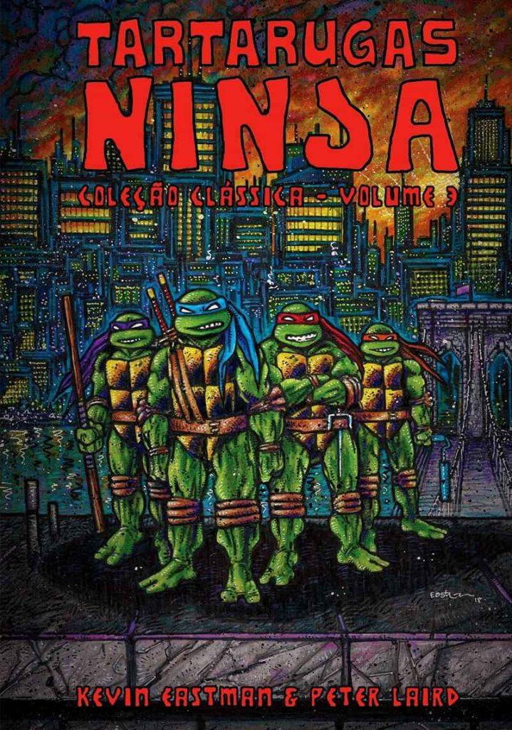 Ler é Bom, Vai! Tartarugas Ninja: Coleção Clássica Vol. 3