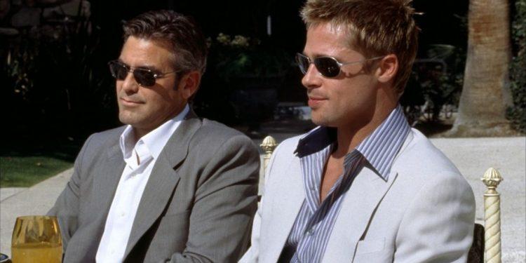 Brad Pitt e George Clooney